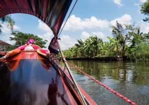 Klongfarhrt zum Klong Lat Mayom