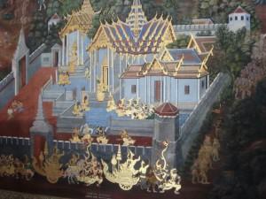 Wandmalereien im Grand Palace