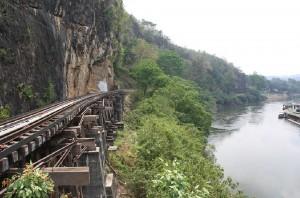 Viadukt bei Tham Kra Sae