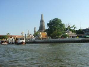 Blick auf den Wat Arun