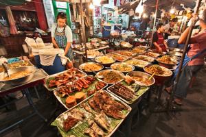 Chinatowns Garküchen