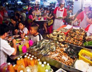 Chinatowns Straßenküchen